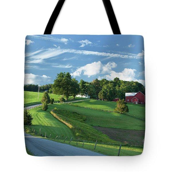 The Rudy Farm Tote Bag by Nicki McManus