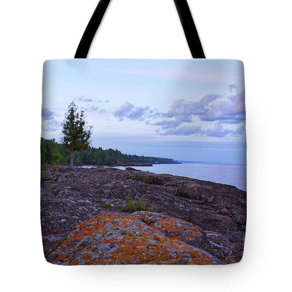 The Rugged North Shore Tote Bag by Kate Purdy