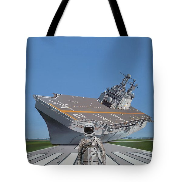 The Runway Tote Bag by Scott Listfield