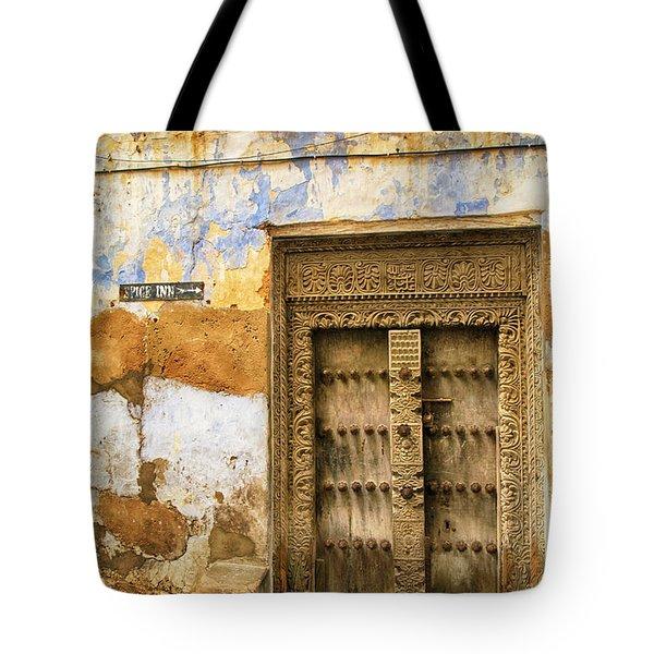The Rustic Door Tote Bag