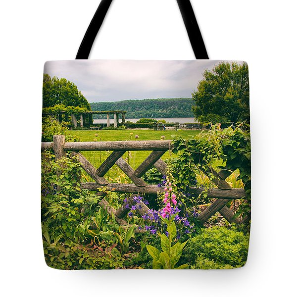 The Rustic Fence Tote Bag by Jessica Jenney