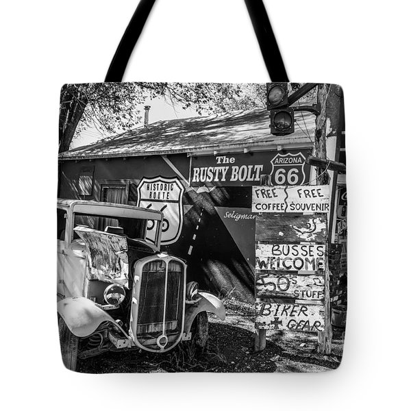 The Rusty Bolt Tote Bag