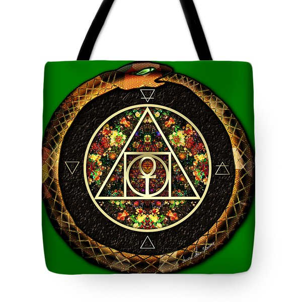 The Sacred Alchemy Of Life Tote Bag by Iowan Stone-Flowers