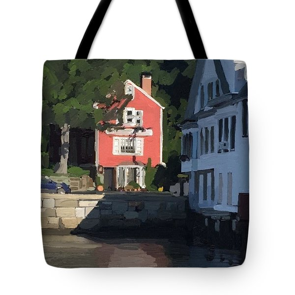 The Sacred Cod And Beacon Marine Basin Tote Bag