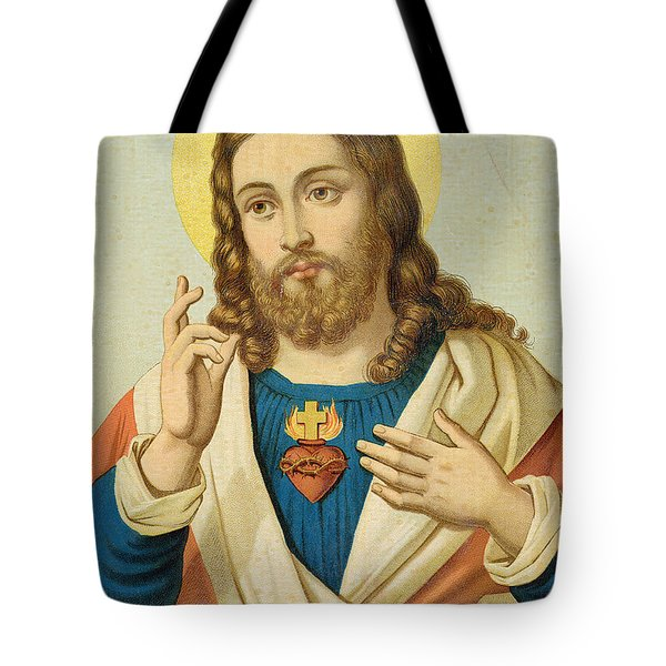 The Sacred Heart Tote Bag by French School