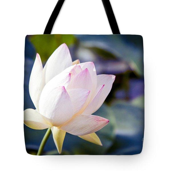 The Sacred Lotus Tote Bag by Sharon Mau