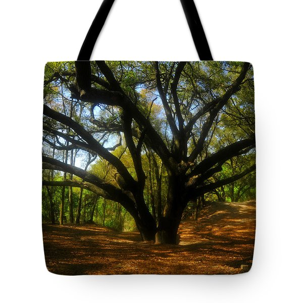 The Sacred Oak Tote Bag