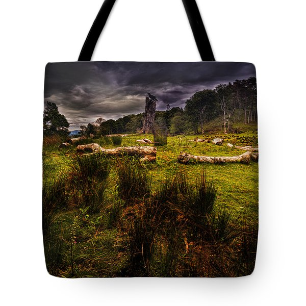 The Sacred Ring Tote Bag