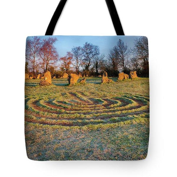 The Sacred Way Tote Bag