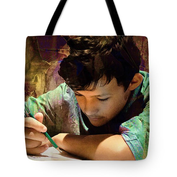 Tote Bag featuring the photograph The Sacrifice by Kate Word