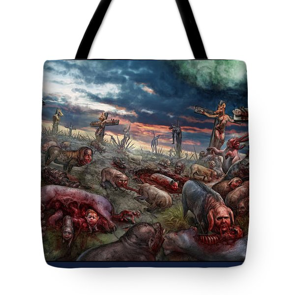 The Sacrifice Tote Bag by Tony Koehl