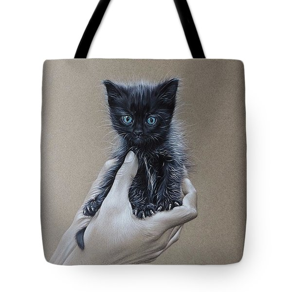 The Safest Place To Be Tote Bag by Elena Kolotusha