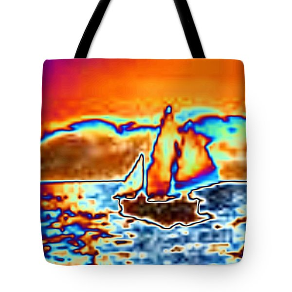 The Sail Tote Bag by Tim Allen