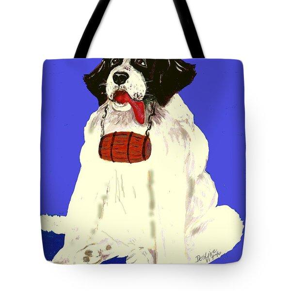 The Saint Tote Bag by Desline Vitto