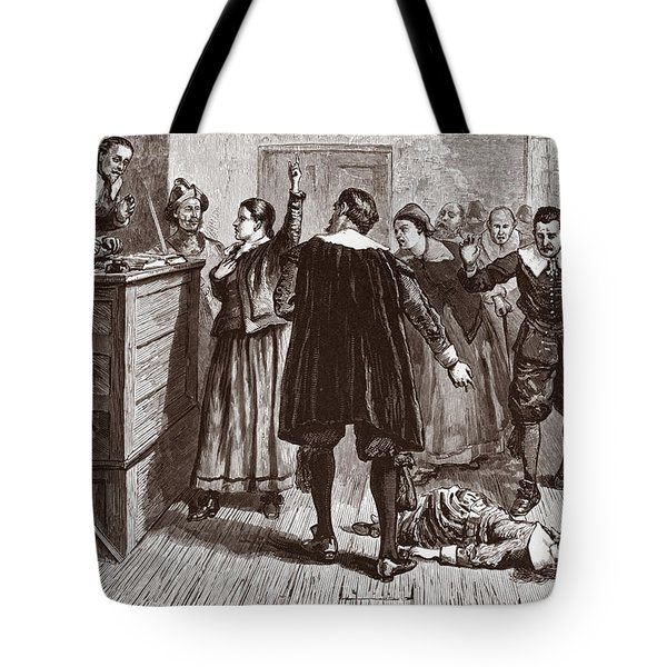 The Salem Witch Trials Tote Bag