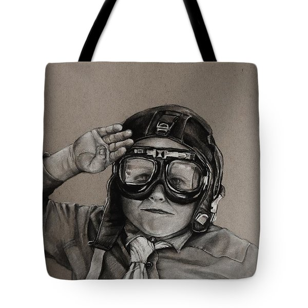 The Salute Tote Bag