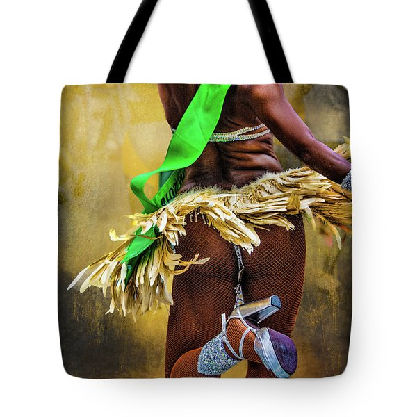 Tote Bag featuring the photograph The Samba Dancer by Chris Lord