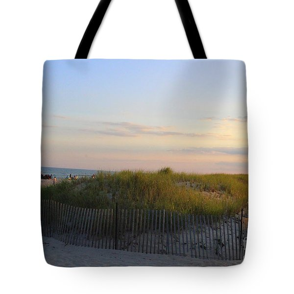 The Sand Dunes Of Long Island Tote Bag