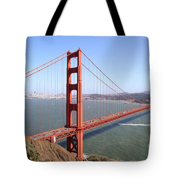 The San Francisco Golden Gate Bridge 7d14507 Tote Bag