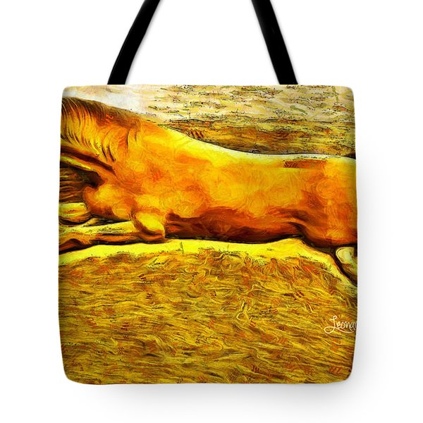 The Sand Horse Tote Bag