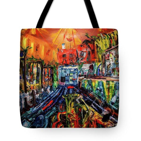 The Sangria Jug Tote Bag