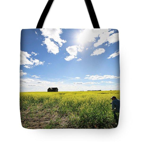 The Saskatchewan Prairies Tote Bag