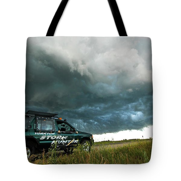 The Saskatchewan Whale's Mouth Tote Bag by Ryan Crouse
