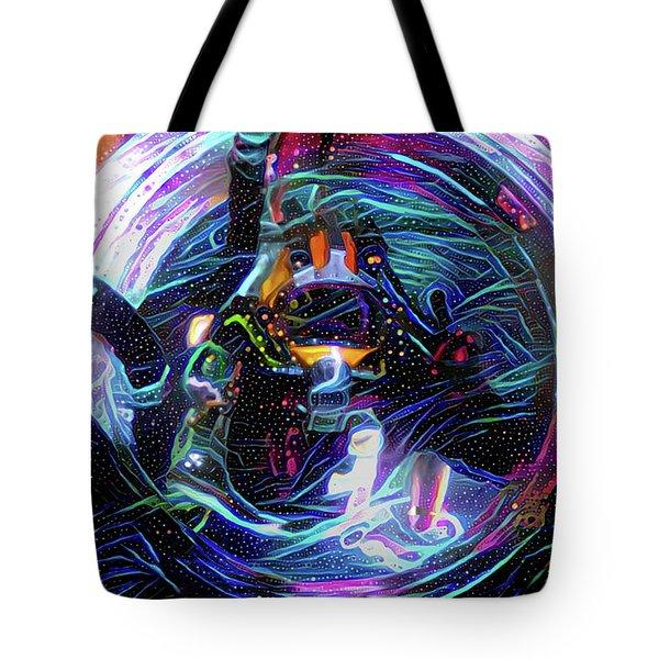The Sat Diver Tote Bag