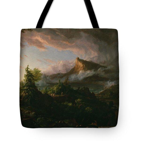 The Savage State Tote Bag