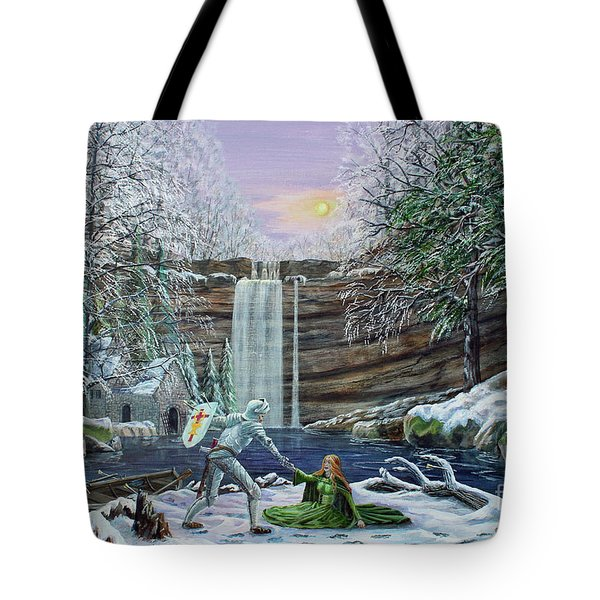 The Saving Of Guinevere Tote Bag