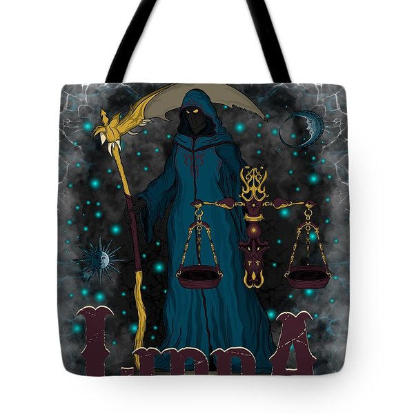 The Scale Libra Spirit Tote Bag
