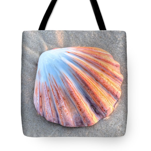 Tote Bag featuring the photograph The Scallop  by JC Findley