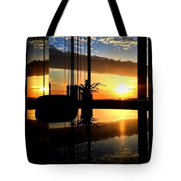 The Scene From A Tote Bag