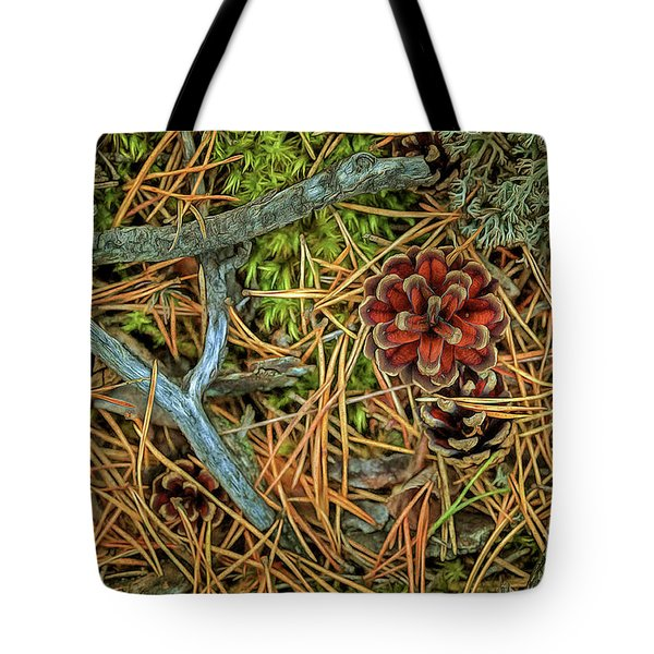 The Scent Of Pine Forest II Tote Bag