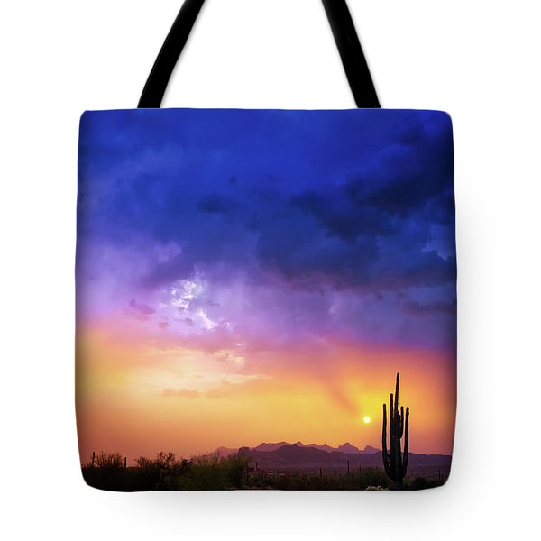 Tote Bag featuring the photograph The Scent Of Rain by Rick Furmanek