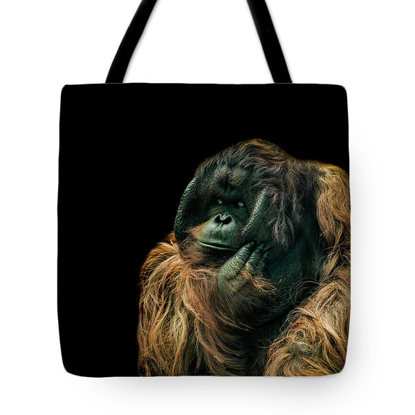 The Sceptic Tote Bag by Paul Neville