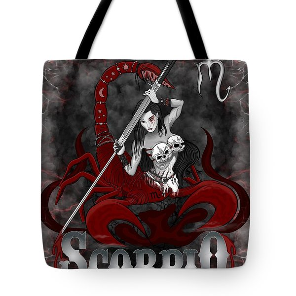 The Scorpion Scorpio Spirit Tote Bag