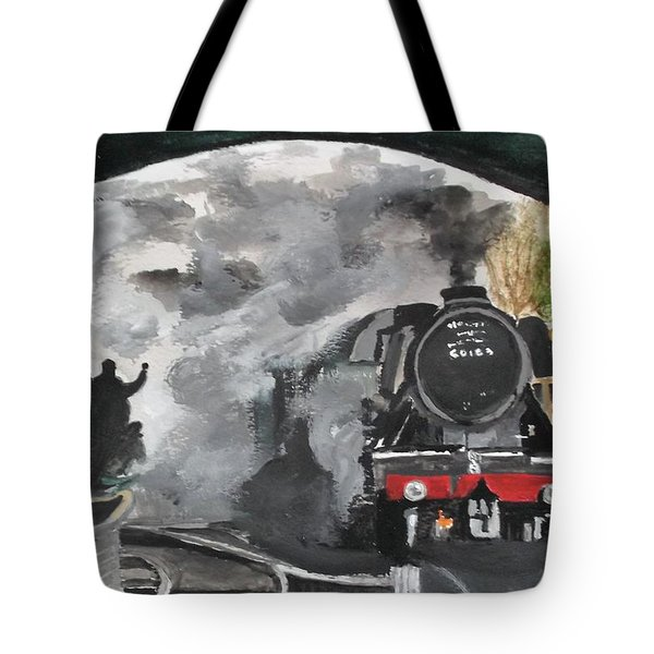 The Scotsman Tote Bag
