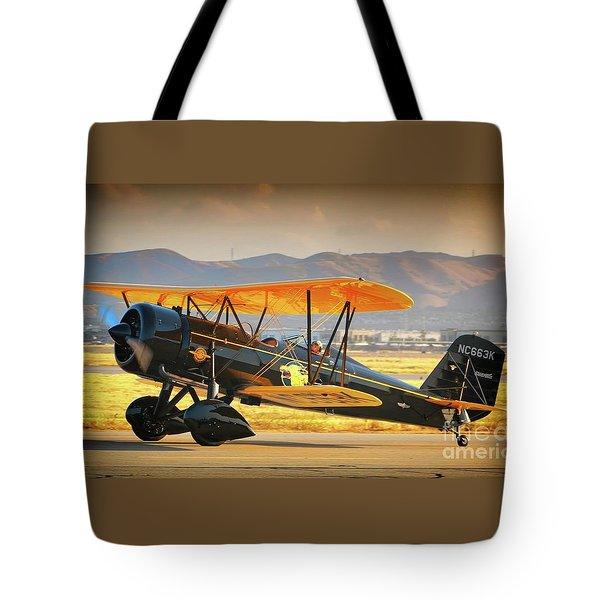 The Scott Familys 1929 Stearman  Version 2 Tote Bag