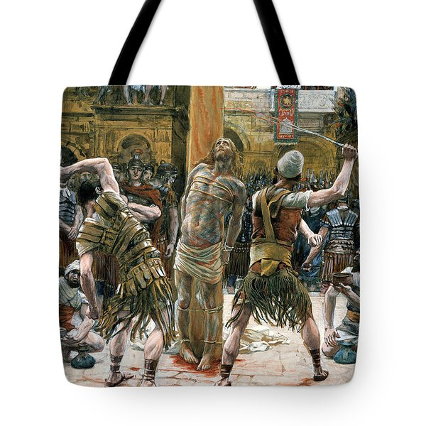 The Scourging Tote Bag by Tissot