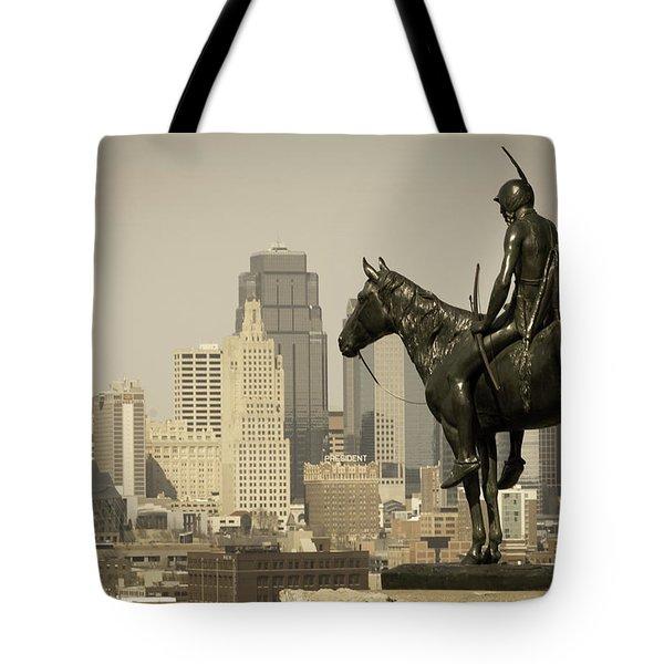 The Scout Kansas Ctiy Tote Bag