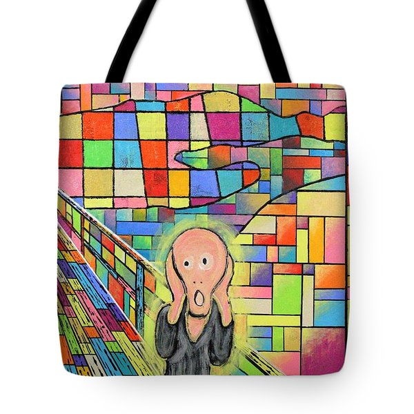 The Scream Jeremy Style Tote Bag