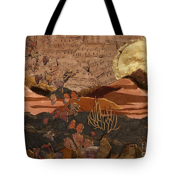 The Scream Of A Butterfly Tote Bag by Stanza Widen