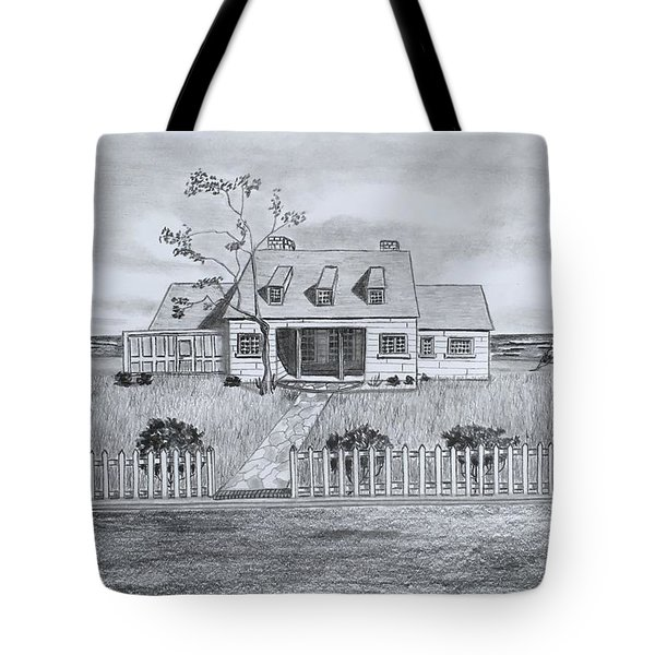 The Sea Captains House  Tote Bag
