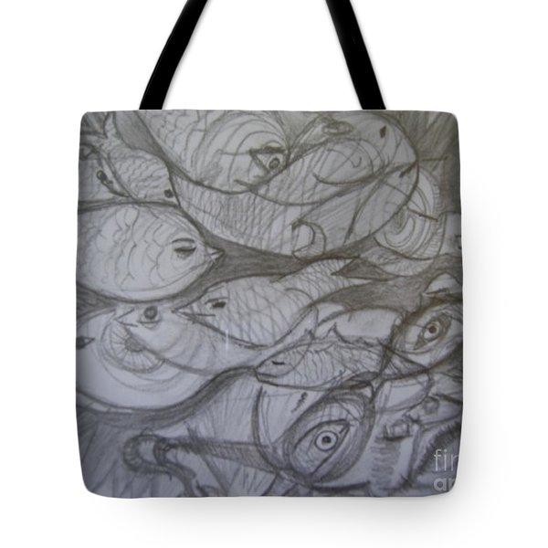The Sea Diver Tote Bag