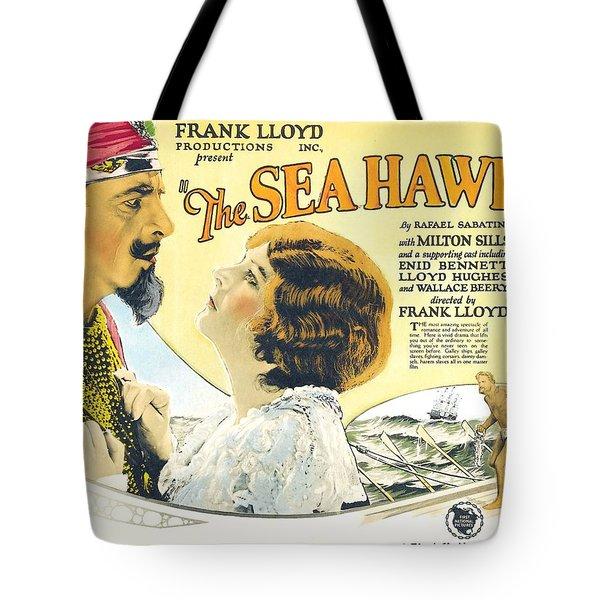 The Sea Hawk 1924 Tote Bag