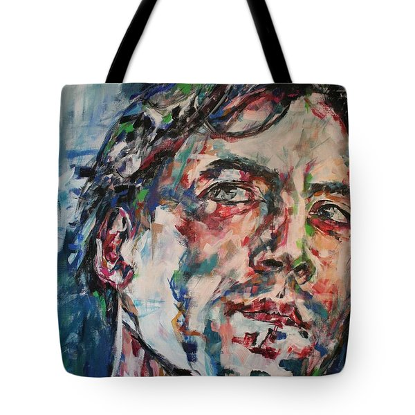 The Sea Inside Your Eyes Tote Bag