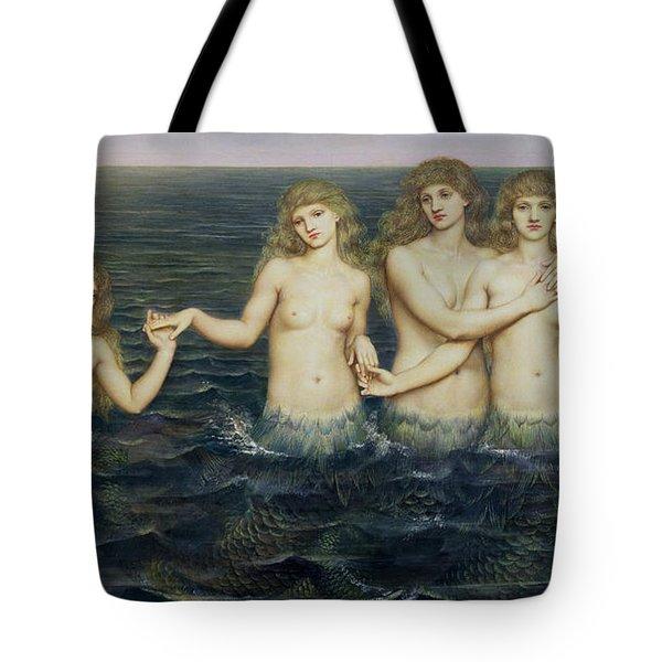 The Sea Maidens Tote Bag