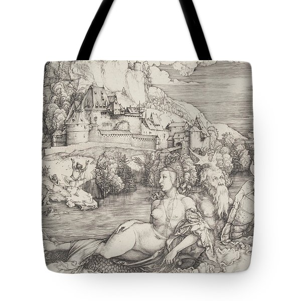 The Sea Monster Tote Bag
