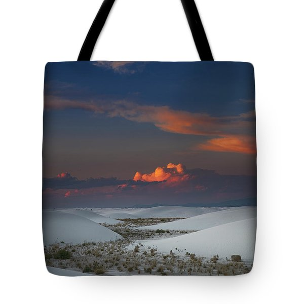 The Sea Of Sands Tote Bag